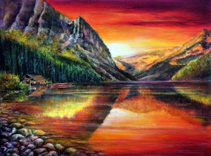 Picture of Commission:  Lake Louise