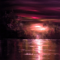 Picture of Magenta Sunset